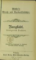 Adressbuch Burgstädt (Sachsen) 1896