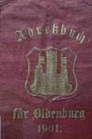 Adressbuch Oldenburg (Oldenburg) 1901