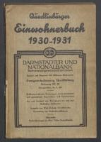 Adressbuch Quedlinburg (Harz) 1931